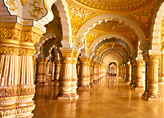 The Golden Throne Is Main Attraction In Mysore Palace During Dasara Festival For 10 Days Which Tourist Can See